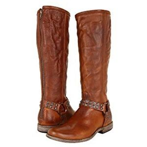 Frye • Philip studded harness tall boots